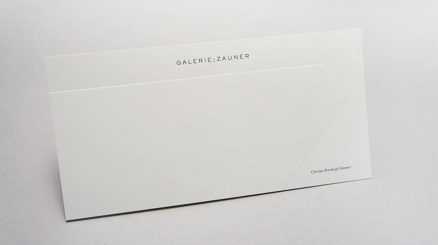 CORPORATE DESIGN Galerie Zauner